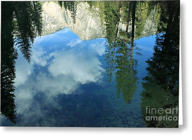Yosemite Reflection 2 Greeting Card
