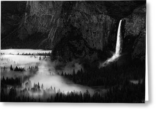 Yosemite Spring Greeting Card