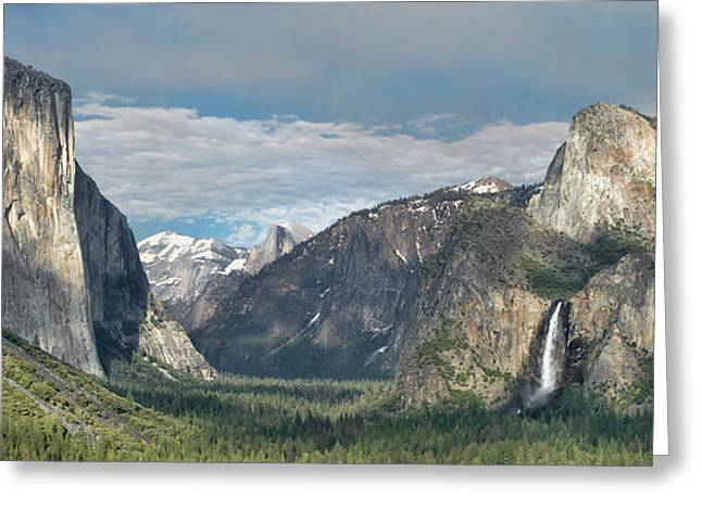 Yosemite Valley Afternoon Greeting Card