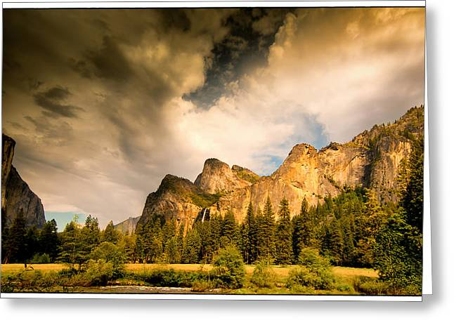 Greeting Card featuring the photograph Yosemite Valley Spring 2013 by Janis Knight