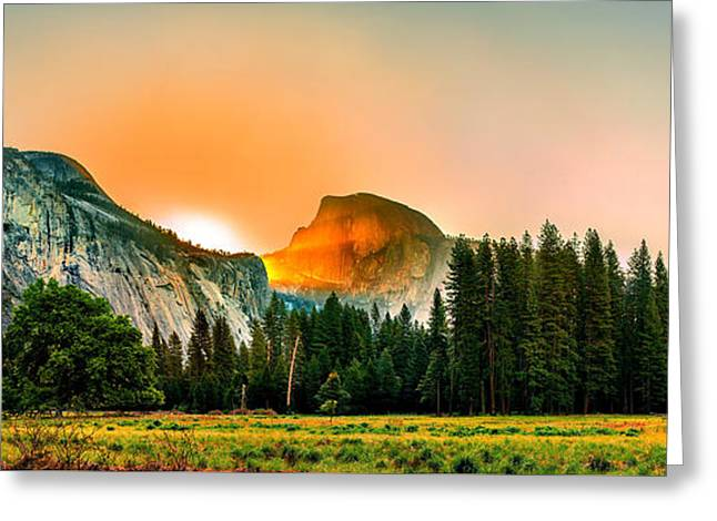 Sunrise Surprise Greeting Card by Az Jackson