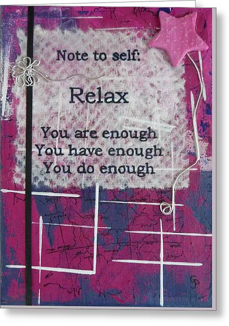 You Are Enough - 2 Greeting Card