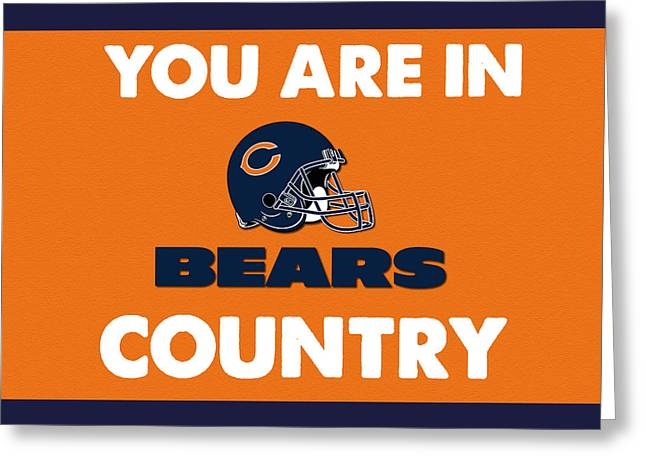 You Are In Bears Country Greeting Card by Celestial Images