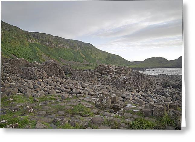 You Rock -- Giant's Causeway -- Ireland Greeting Card by Betsy Knapp