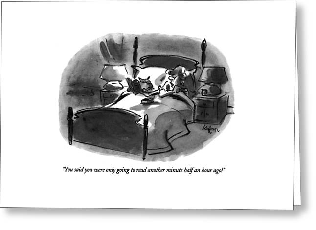 You Said You Were Only Going To Read Another Greeting Card by Lee Lorenz