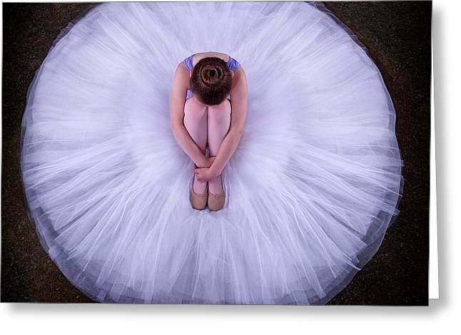 Young Ballerina Greeting Card