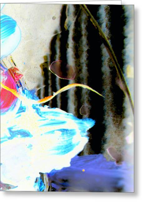 Greeting Card featuring the digital art Young Elegance by Christine Ricker Brandt