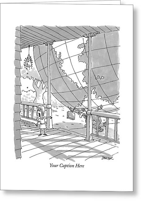 'your Caption Here' Greeting Card