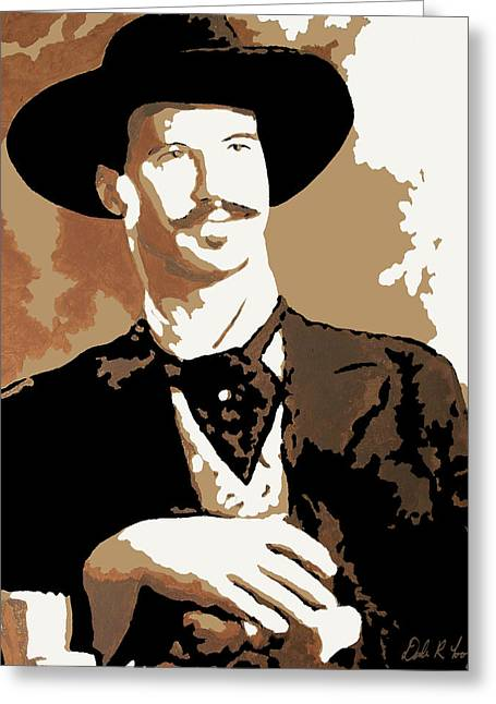 Your Huckleberry Greeting Card by Dale Loos Jr