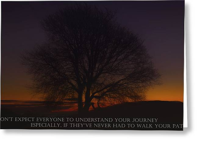 Your Journey Greeting Card