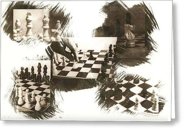 Your Move Greeting Card by Caitlyn  Grasso