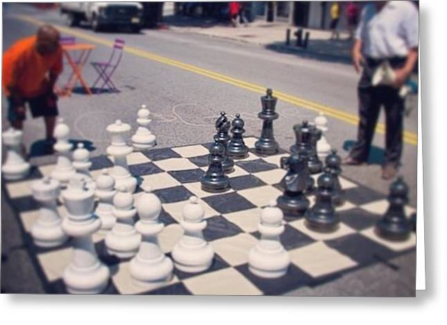 Your Move Greeting Card by Kas  Look