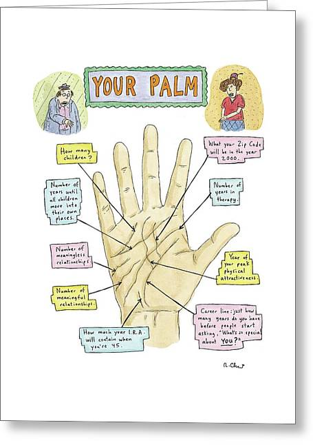 Your Palm Greeting Card