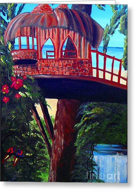 Your Tree House Greeting Card