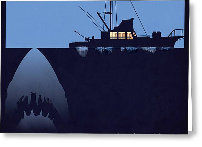 You're Going To Need A Bigger Boat Greeting Card by Dak Mannella
