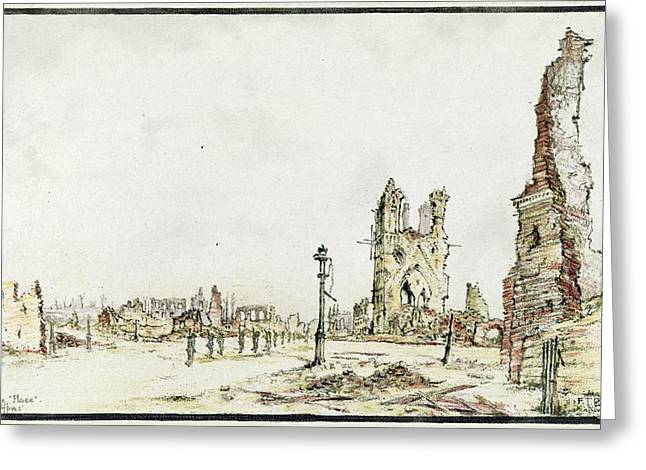 Ypres Greeting Card by Library Of Congress