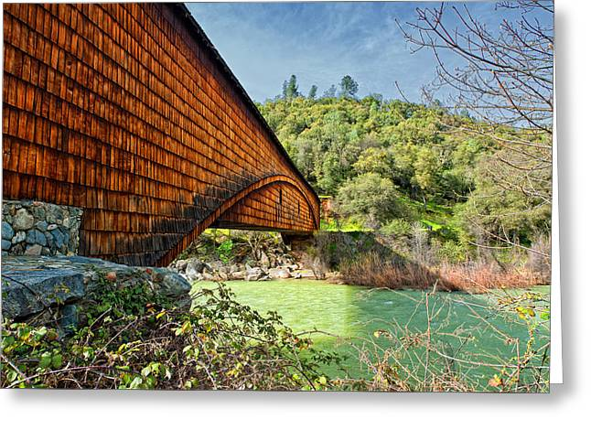 Greeting Card featuring the photograph Yuba State Park by Jim Thompson
