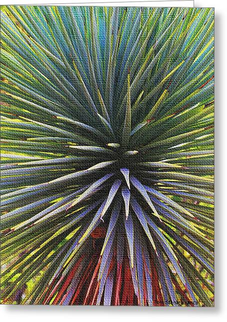 Greeting Card featuring the photograph Yucca At The Arboretum by Tom Janca