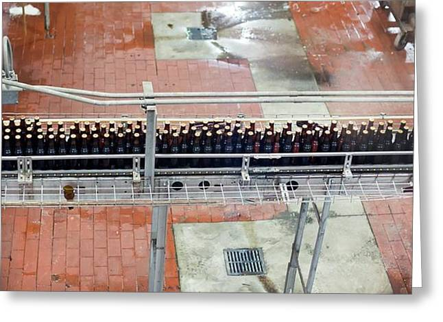 Yuengling Brewery Greeting Card by Jim West
