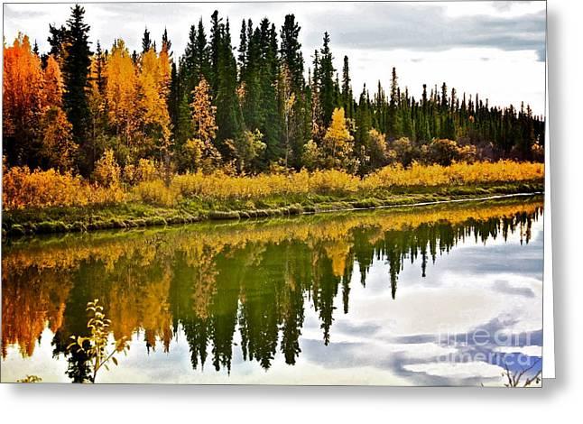 Yukon Autumn Greeting Card