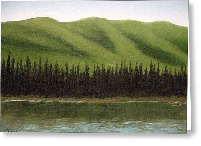 Yukon River Greeting Card