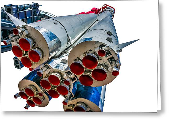 Yuri Gagarin's Spacecraft Vostok-1 - 5 Greeting Card