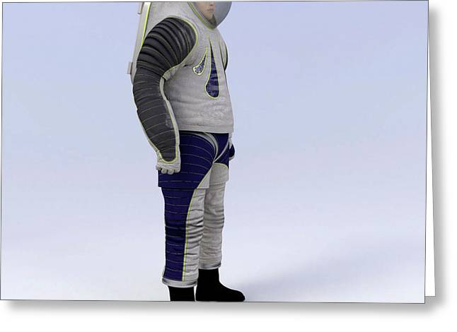 Z-2 Prototype Spacesuit Greeting Card by Nasa