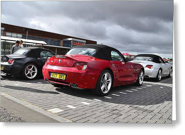 Z4 Collection Greeting Card by Phil Kellett