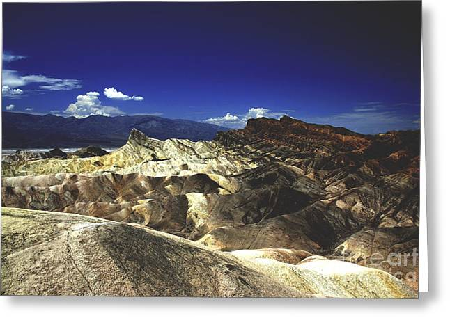 Zabriskie Point Greeting Card by Patricia Hofmeester