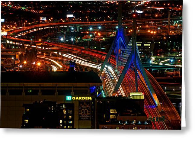 Zamim Bridge 05 Greeting Card by Jeff Stallard