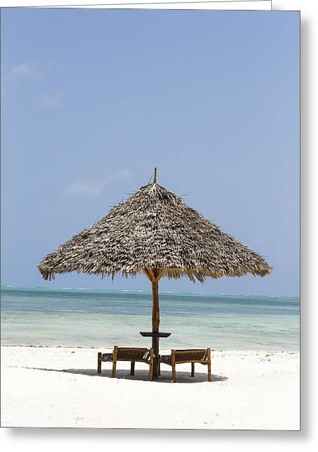 Zanzibar Greeting Card by Pier Giorgio Mariani