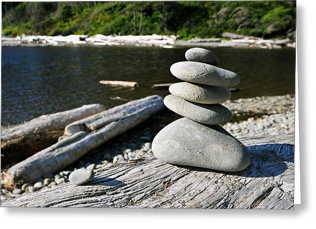 Zen Rocks Greeting Card