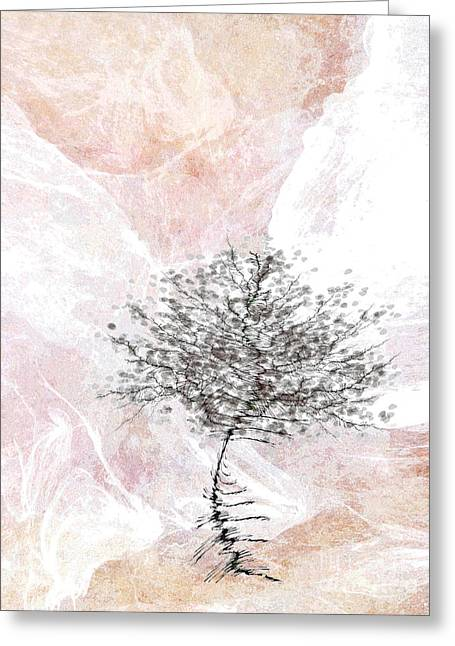 Zen Tree 2 Greeting Card by Klara Acel