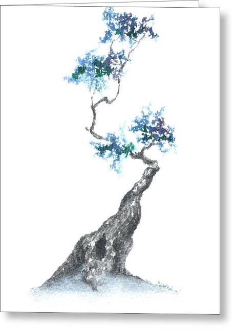 Zen Tree 840 Greeting Card by Sean Seal