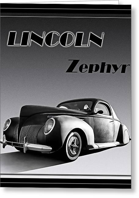 Zephyr Greeting Card