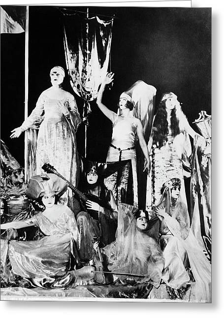 Ziegfeld Follies, 1923 Greeting Card by Granger