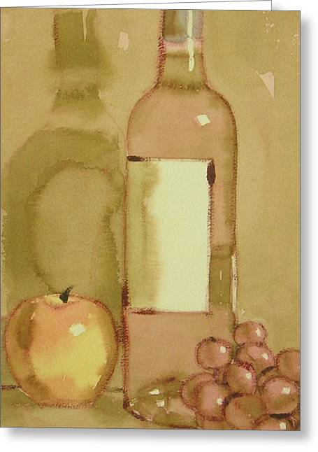 Zinfandel Two Greeting Card
