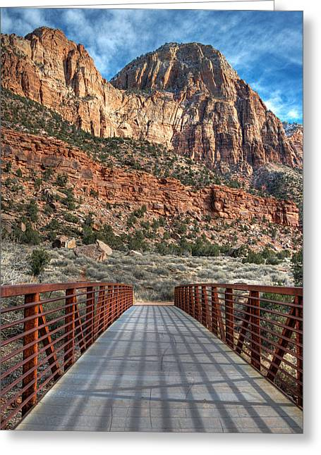 Zion Connection Greeting Card