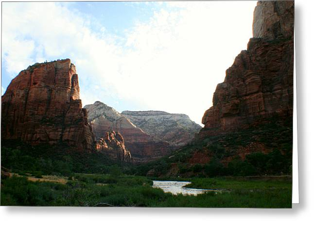 Zion Greeting Card by Jon Emery