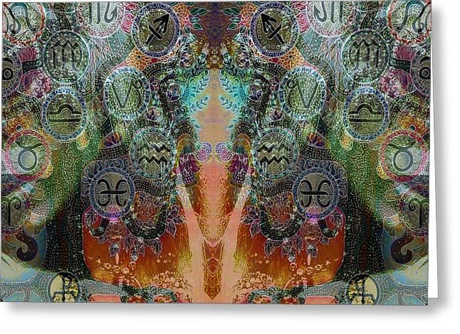Zodiac Greeting Card