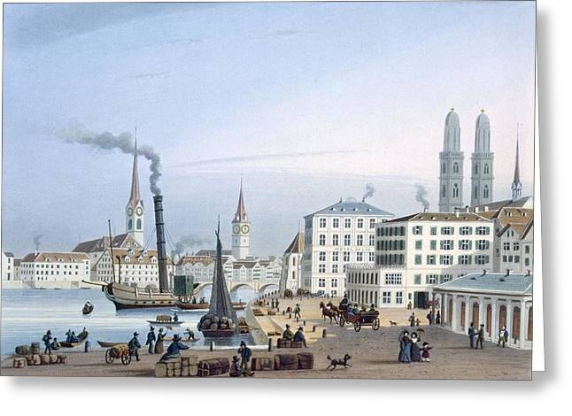 Zurich Greeting Card by Swiss School