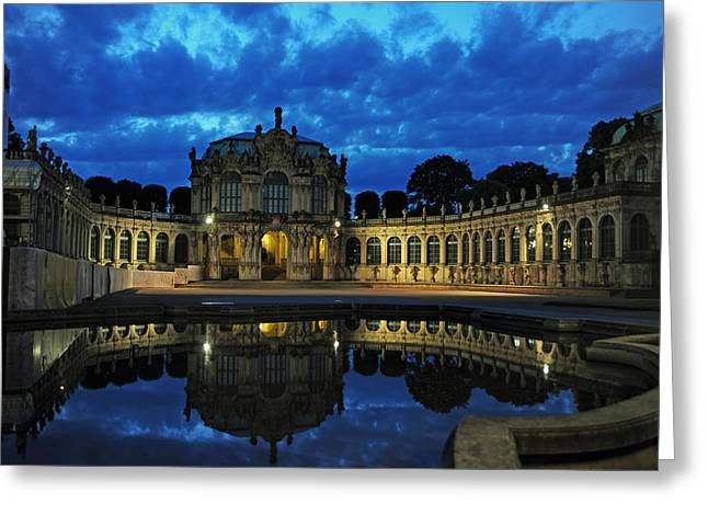 Zwinger Dresden Germany Greeting Card