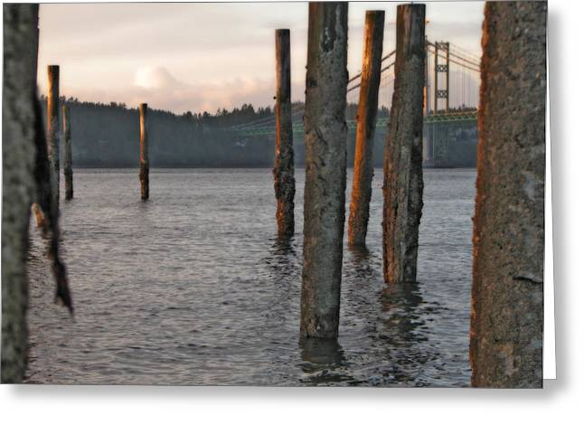 Greeting Card featuring the photograph  A Titlow Sunset by Chris Anderson