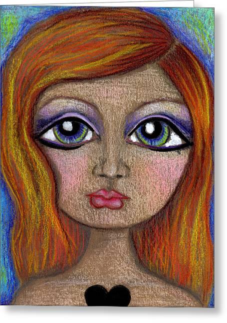 Broken Hearted Girl 3 Greeting Card