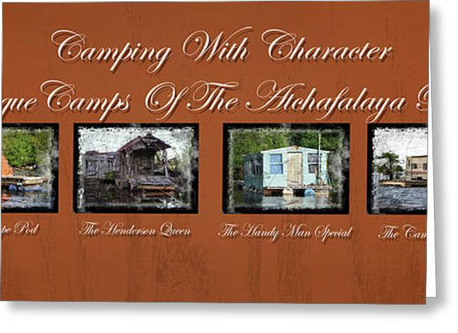 Camps Of The Atchafalaya Basin Greeting Card