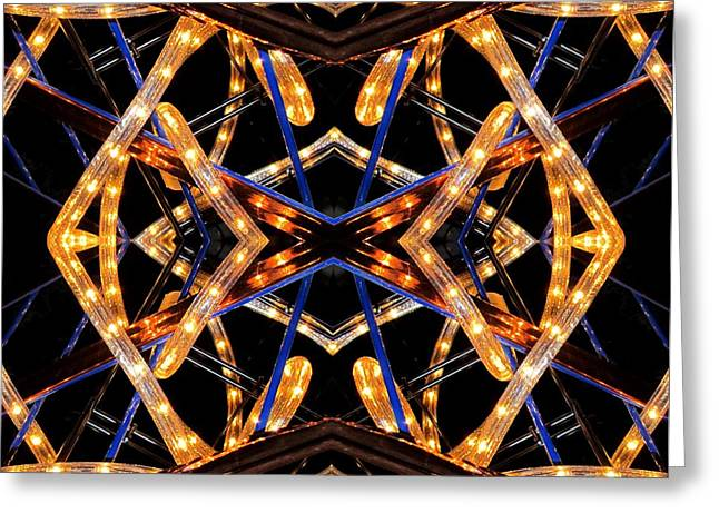 Design X Lights Greeting Card by  Andrew  Thomas