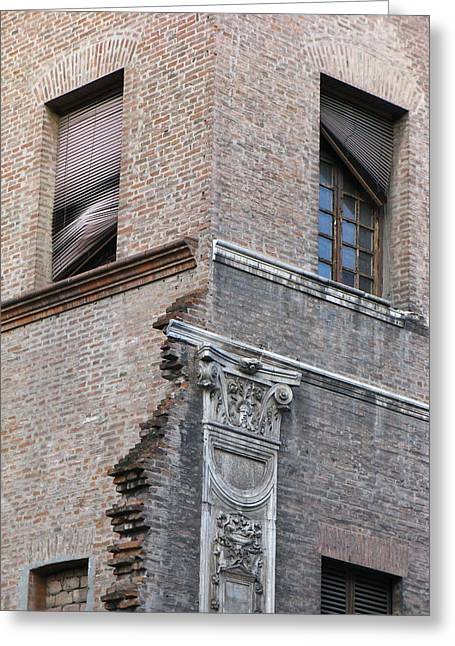 Ferrara Italy Greeting Card by Ian Stevenson