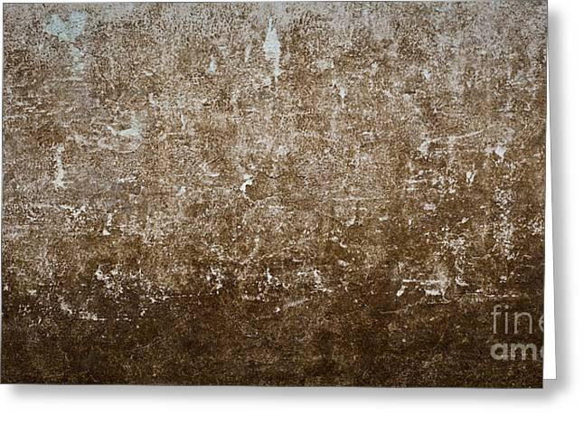 Grunge Concrete Wall Texture Greeting Card by Chavalit Kamolthamanon