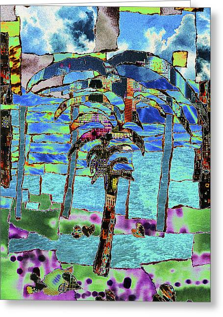 Life's Love Reciprocated Greeting Card by Kenneth James