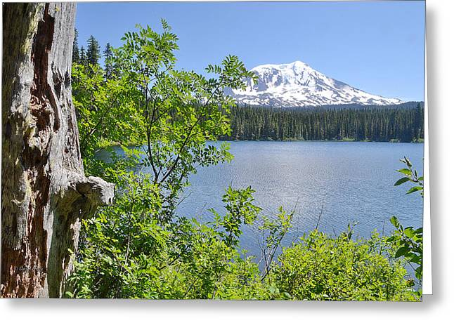 Mount Adams Greeting Card